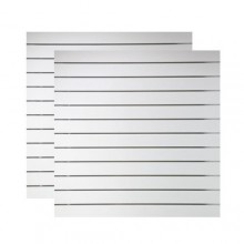 Spårpanel Vit 4-pack