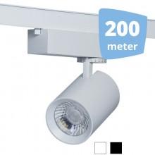 25W LED Spot för 3-fas rails